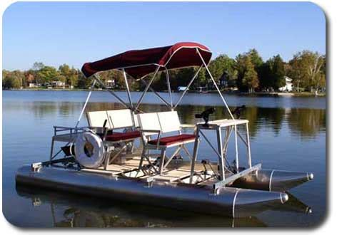 Aqua Cycle Paddle Boat For Sale by Aqua Cycle Paddle Boats Marine Automated Dock Systems Inc