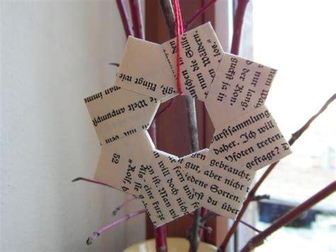Fünfzackiger Falten by Origamistern Anleitung Diy Winter