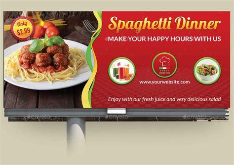 restaurant advertising bundle vol  images