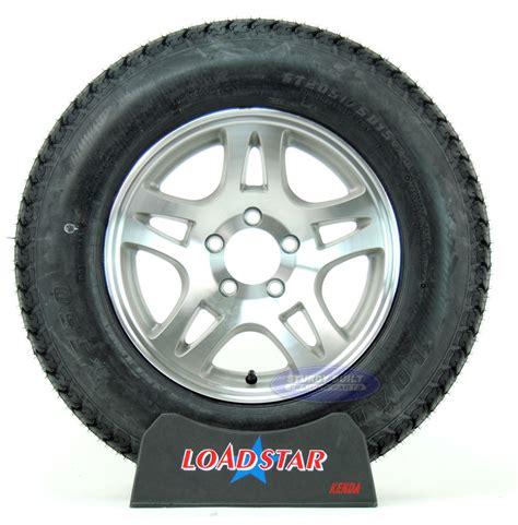 Boat Trailer Wheels And Tyres by St205 75d15 Loadstar Trailer Tire On 5 Lug Aluminum Split