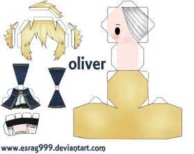 oliver papercraft by esrag999 on deviantart paper craft