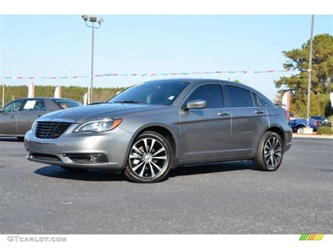 2012 Chrysler 200 S by Tungsten Metallic 2012 Chrysler 200 S Sedan Exterior Photo