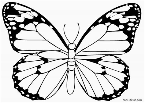 Coloring Images Of Butterflies by Printable Butterfly Coloring Pages For Cool2bkids