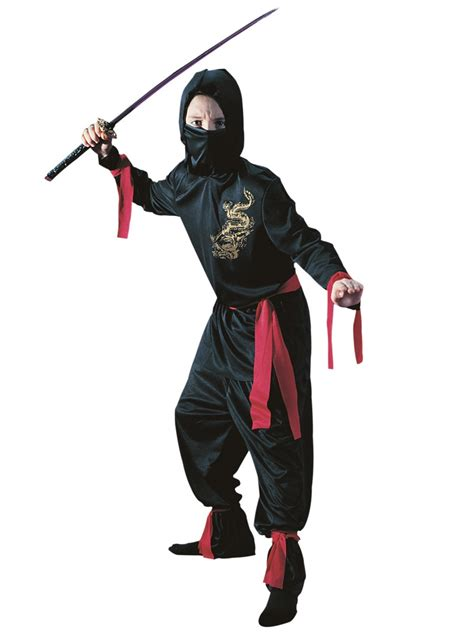 child black ninja costume  fancy dress ball