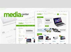 Download Media Center Electronic eCommerce HTML Template