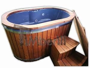Kleine Sauna Für 2 Personen : badetonne oval f r 2 personen mit gfk einsatz ~ Lizthompson.info Haus und Dekorationen
