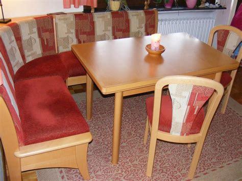 Mit Stühlen Gebraucht by Essgruppe Mit Eckbank Tisch Und 2 St 252 Hlen Gebraucht