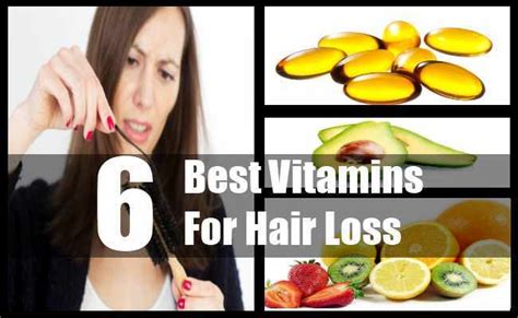 6 Best Vitamins For Hair Loss  How To Control Hair Loss