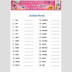 Activity Worksheets For Kids  Activity Shelter