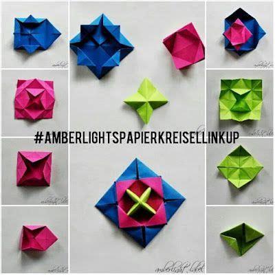 origami spinne falten kindergeburtstag basteln origami papierkreisel kreisel falten makotokoma spinning top anleitung