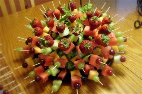 showy  simple fruit kabobs perfect   party recipe fruit kabobs  cholesterol