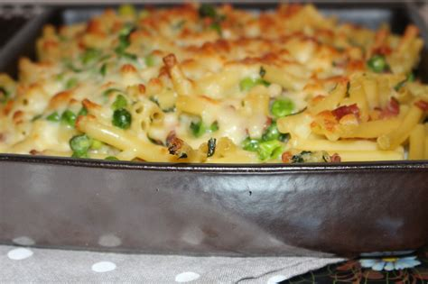 gratin de macaronis petits pois jambon les petits plats de mimimarie
