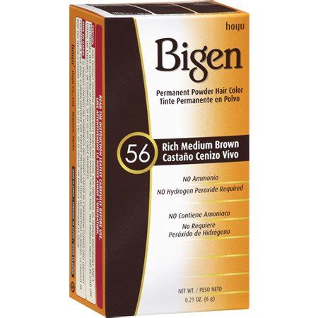 bigen permanent powder hair color rich medium brown