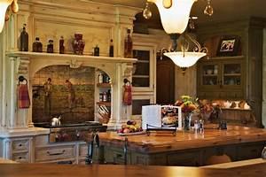 Old World European Kitchen