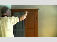 A Good Way To Paint A Wardrobe Armoire YouTube