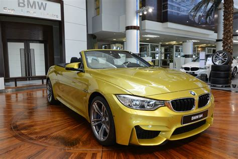 First Seen Bmw M4 Convertible In Austin Yellow