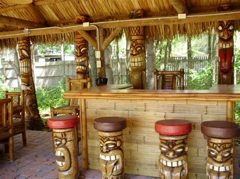 Tiki Bar by Hen Theme Tropical Fever It S 5 O Clock Here