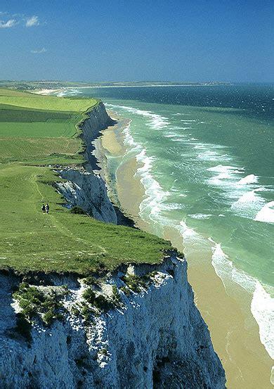 falaises du cap blanc nez plages mer falaise cap
