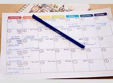 Monthly Menu Plan Printable Picklebums