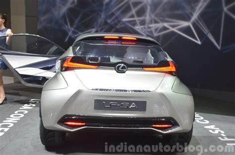Lexus Lf Sa Concept Rear View At 2018 Geneva Motor Show