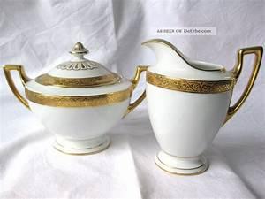 Altes Geschirr Mit Goldrand : thomas bavaria 9128 5 porzellan mit goldrand art deco um 1930 ~ Sanjose-hotels-ca.com Haus und Dekorationen