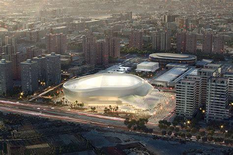 plans unveiled  hok designed valencia arena