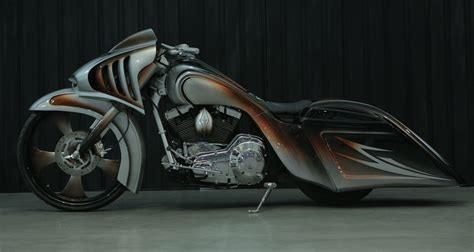 Gambar Motor Harley Davidson Rod modifikasi harley davidson road king bocah lelaki