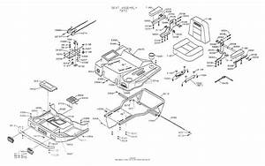 Dixon Ztr 5022  1999  Parts Diagram For Body