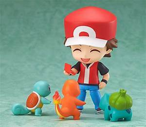 this pokemon trainer red nendoroid is ludicrously cute