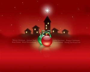 1280x1024 Merry Christmas red desktop PC and Mac wallpaper