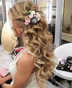 15 Bridal Hair Half Up Hairstyles & Haircuts 2016 - 2017