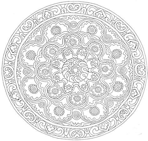 Dessin A Imprimer Mandala Coloriage Mandala Dessins Et Images Mandala Gratuits 224 Colorier Imprimer Mandala Dessin