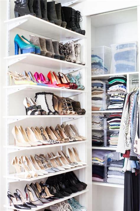 best 25 shoe shelves ideas on closet shoe