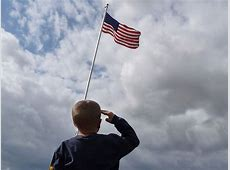 Child Saluting American Flag Flickr Photo Sharing!