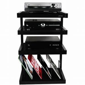 Meuble Hifi But : norstone esse vinyl meuble hifi noir rouge ou blanc ~ Teatrodelosmanantiales.com Idées de Décoration