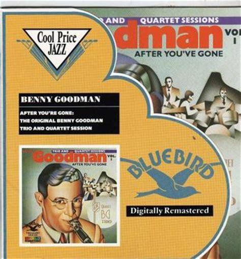 Original Benny Goodman Trio And Quartet Sessions, Vol 1