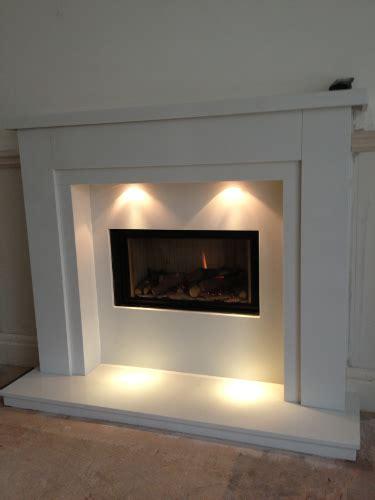 gas fire fireplace installation photographs  liverpool
