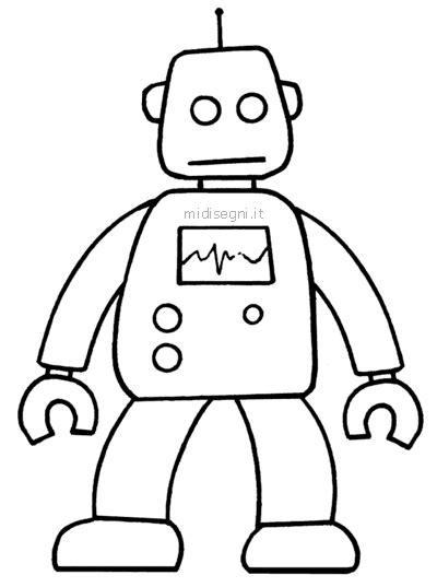 disegni robot da colorare per bambini disegni da colorare per bambini midisegni it