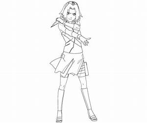 Sakura Haruno 13 Coloring Crafty Teenager