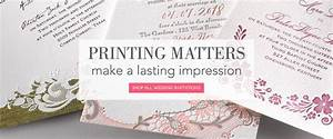 wedding invites printing bloomcreativocom With wedding invitation printing process