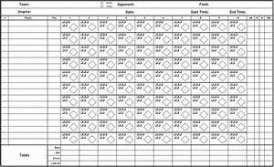 printable pdf baseball scorecard lineup count sheets With softball scorecard template