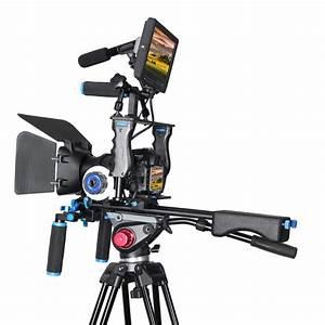 DSLR Rig Video Stabilizer Kit Film Equipment Matte Box ...