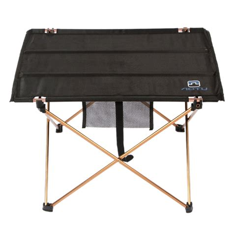 Aluminum Roll Up Table Folding Camping Outdoor Garden