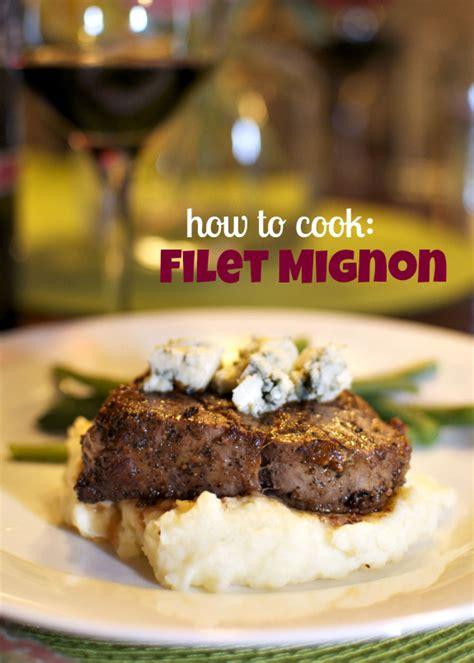 cook filet mignon how to cook filet mignon in a pan