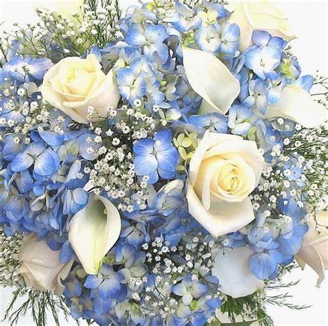 blue wedding flowers ideas  pinterest blue