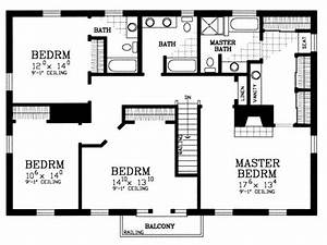 4 bedroom house plans 4 bedroom house floor plans 4 for Layout for 4 bedroom house