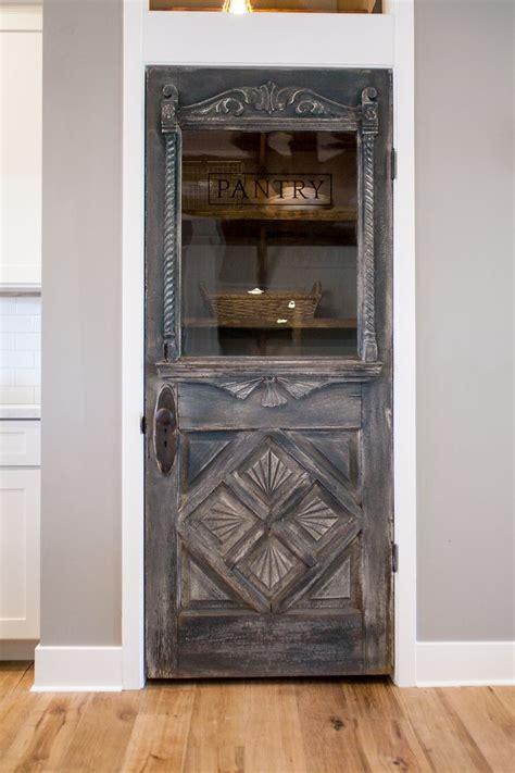 antique farmhouse door repurposed   pantry door