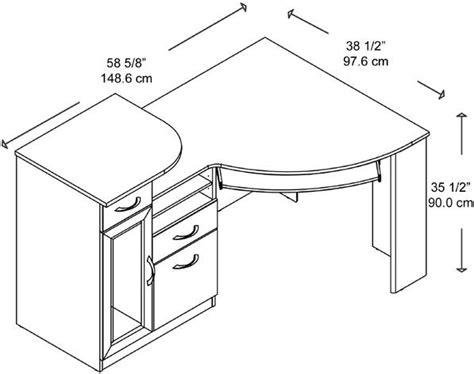 bush vantage corner desk dimensions bush hm66315 03 corner desk vantage collection 2 box