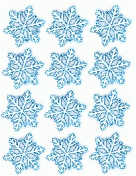 small snowflake template blue snowflake printables scrapheap challenge