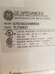 Ge Refrigerator Service Manual Request